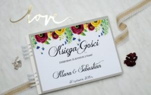 unikalna księga gości wesela