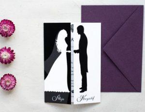 ślubne zaproszenie z miłości
